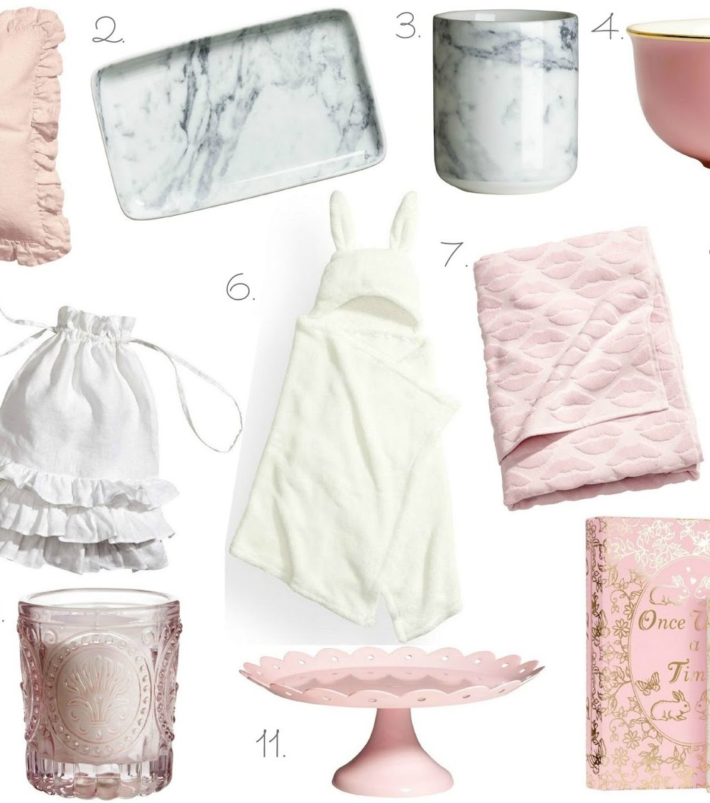 H&M Homeware Wishlist