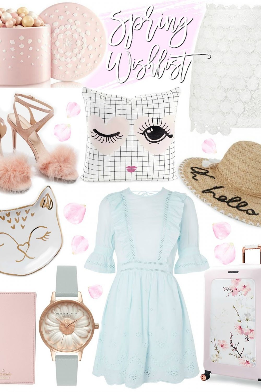 Spring Wishlist ~ Pretty Pastels