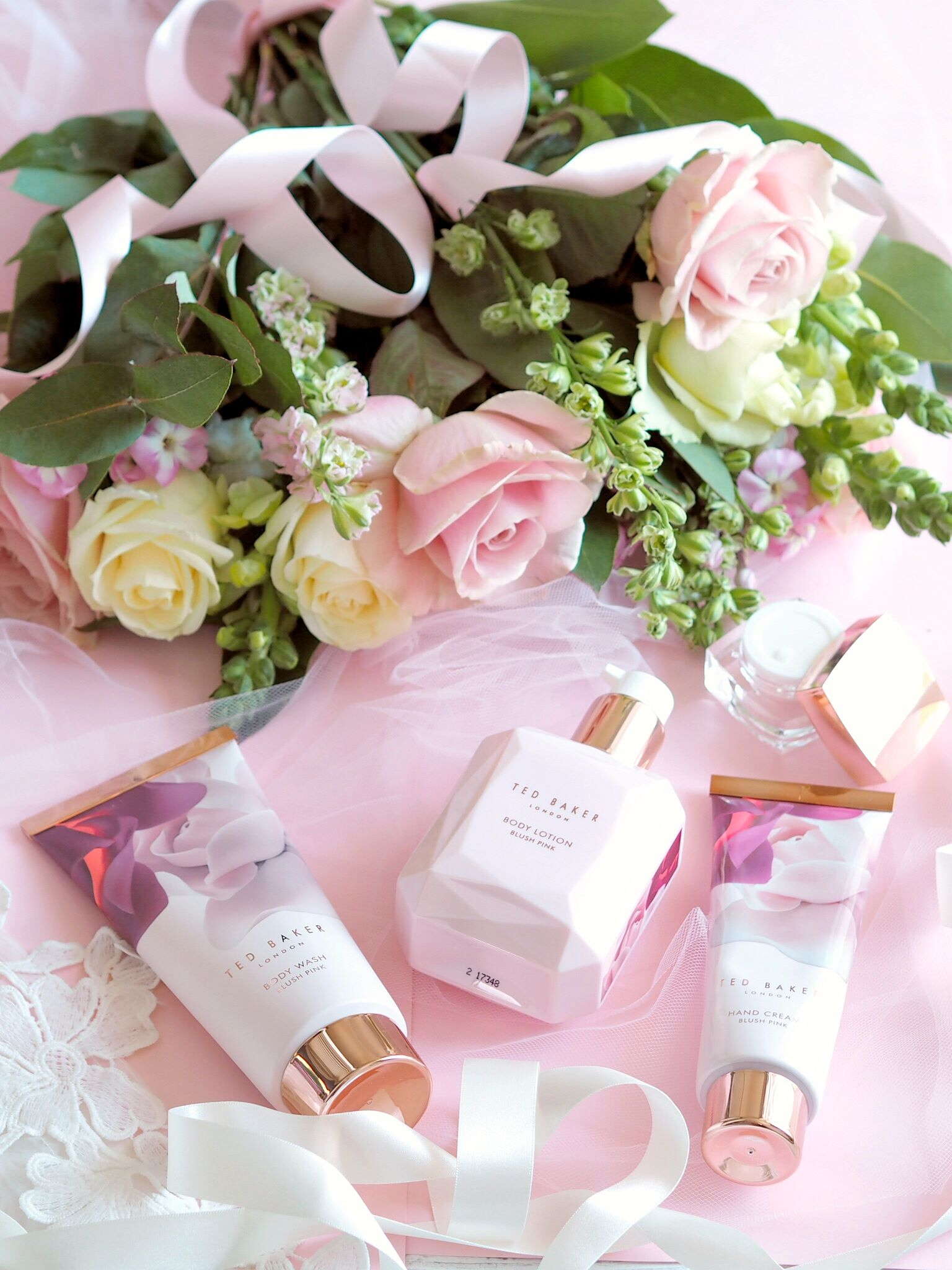 Special Gift Ideas For Mother's Day, Gift Guide, Ted Baker Blush Bouquet Gift Set | Love Catherine