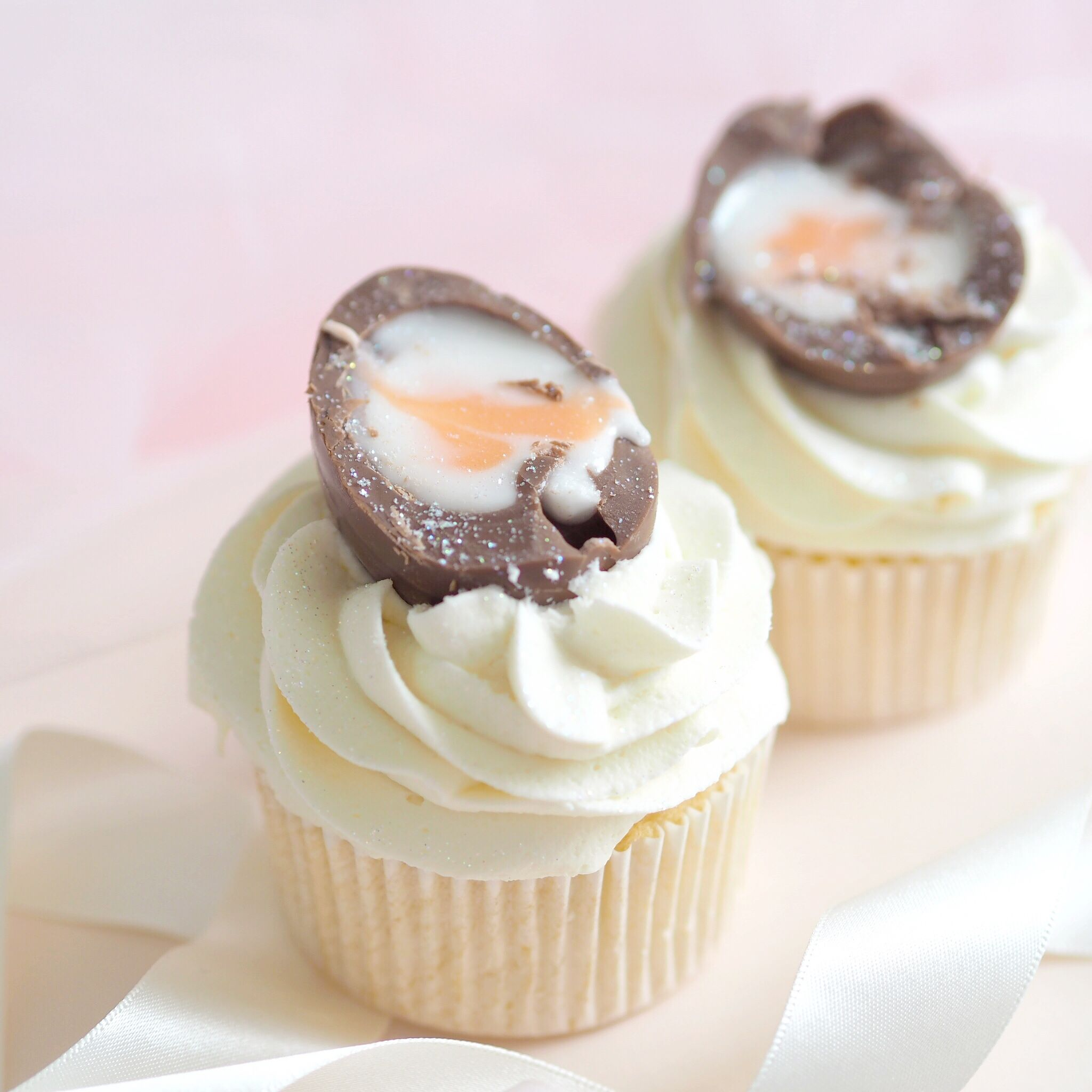 Six Ideas For Your Easter Baking, Creme Egg Cupcakes | Love Catherine