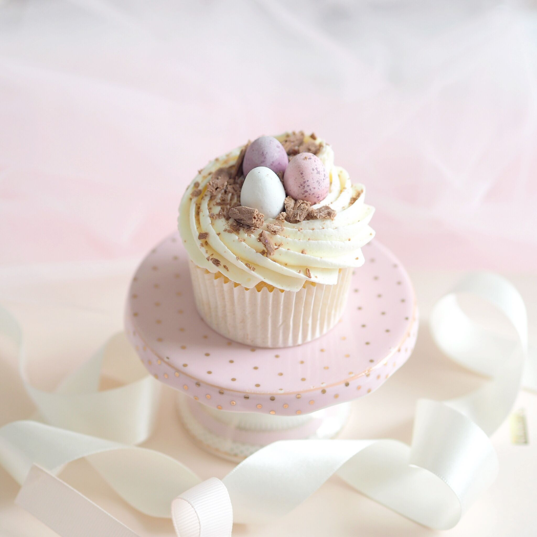 Six Ideas For Your Easter Baking, Mini Egg Cupcakes | Love Catherine