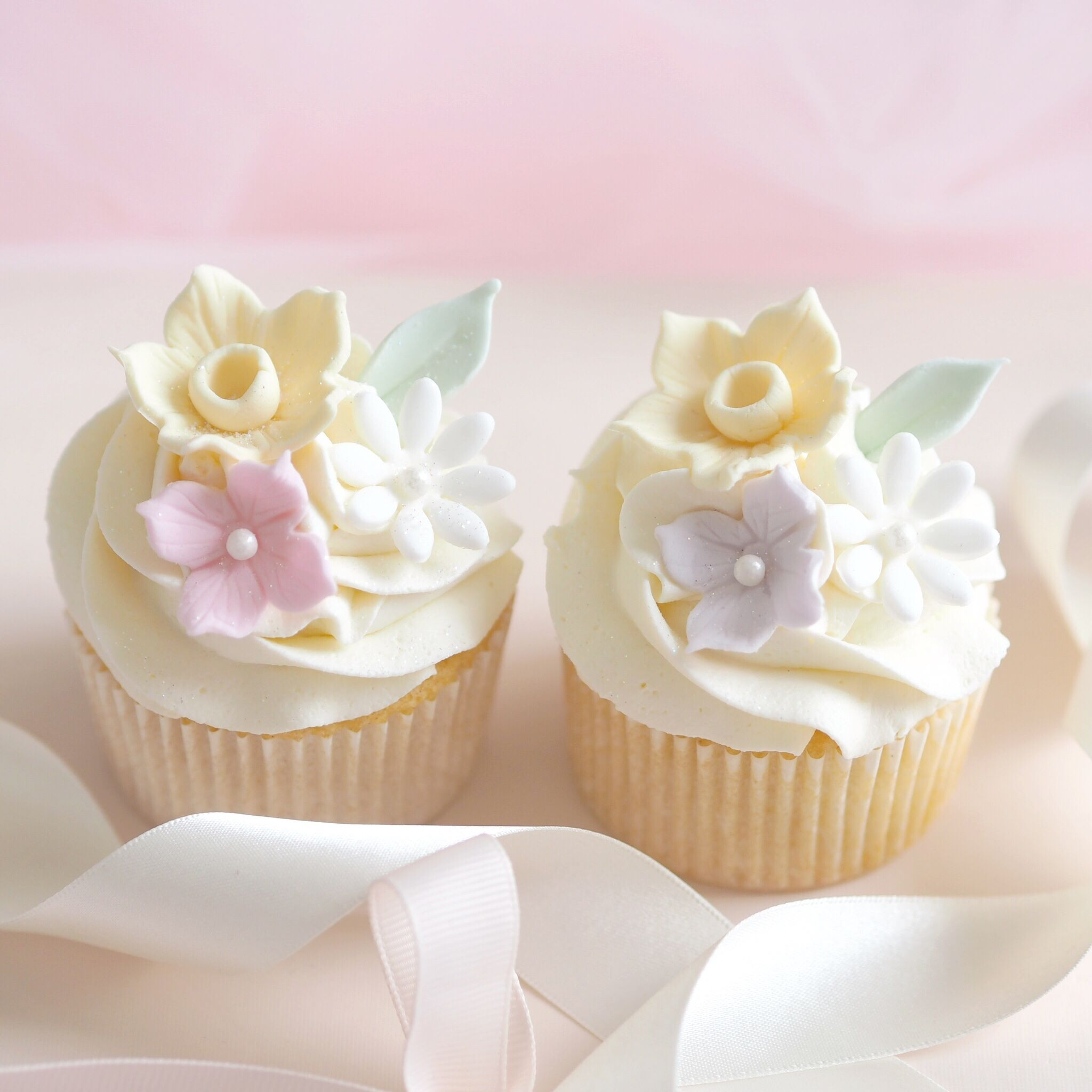 Six Ideas For Your Easter Baking, Floral Spring Cupcakes | Love Catherine