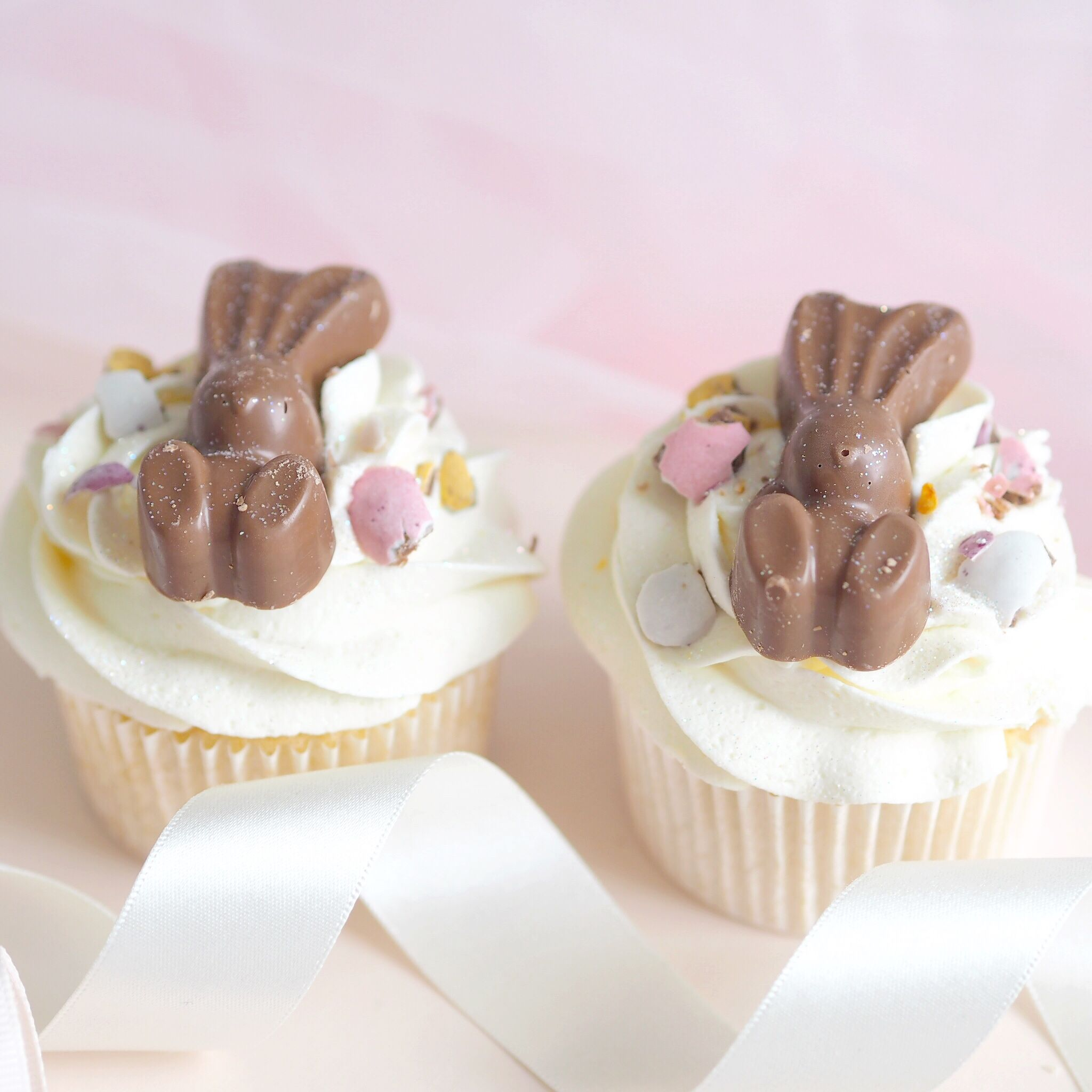 Six Ideas For Your Easter Baking, Malteser Bunny Cupcakes | Love Catherine