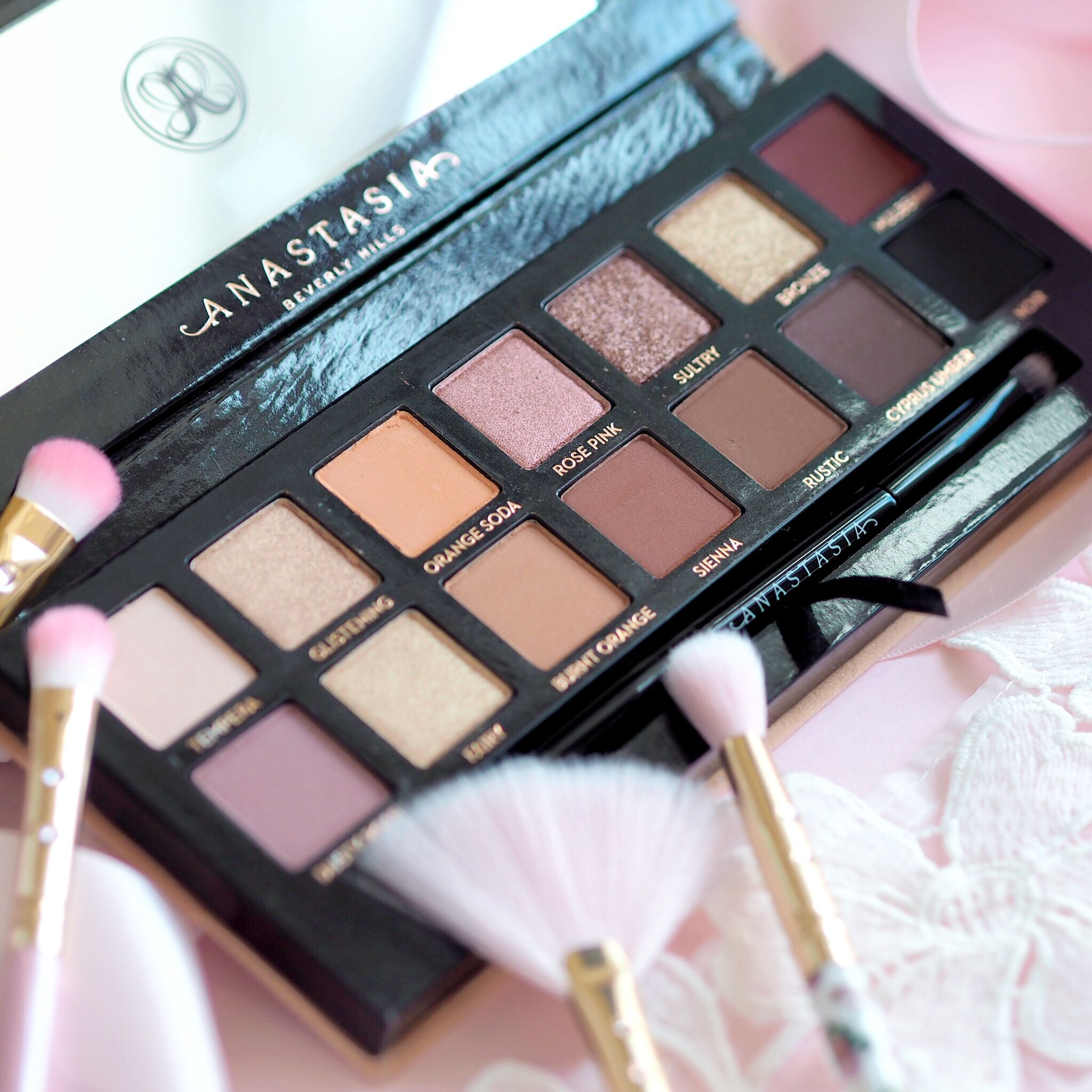 Anastasia Beverly Hills Soft Glam Eyeshadow Palette, Swatches | Love Catherine