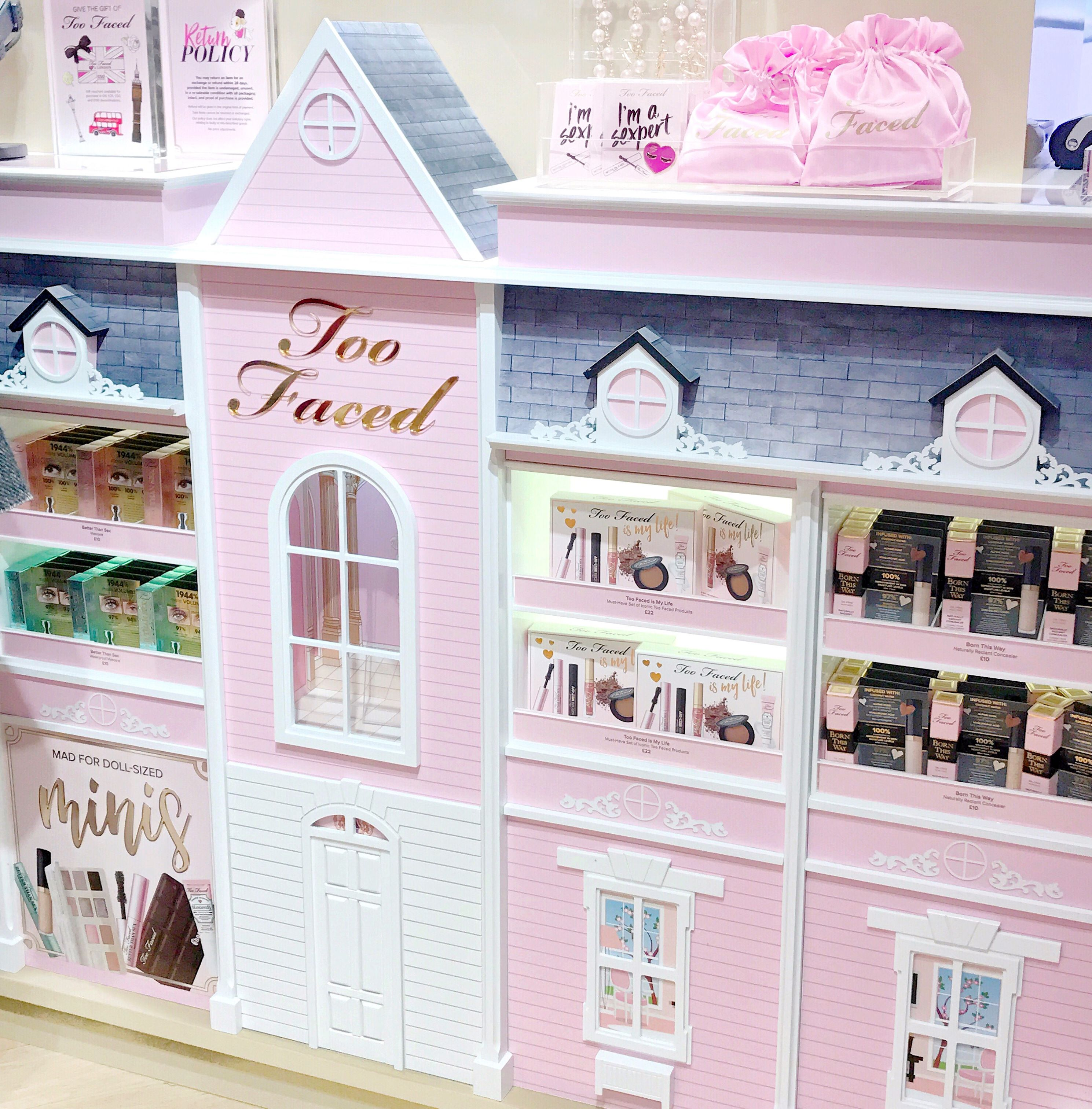 The Too Faced Carnaby Boudoir Store, Barbie Dolls-house Counter   Love Catherine