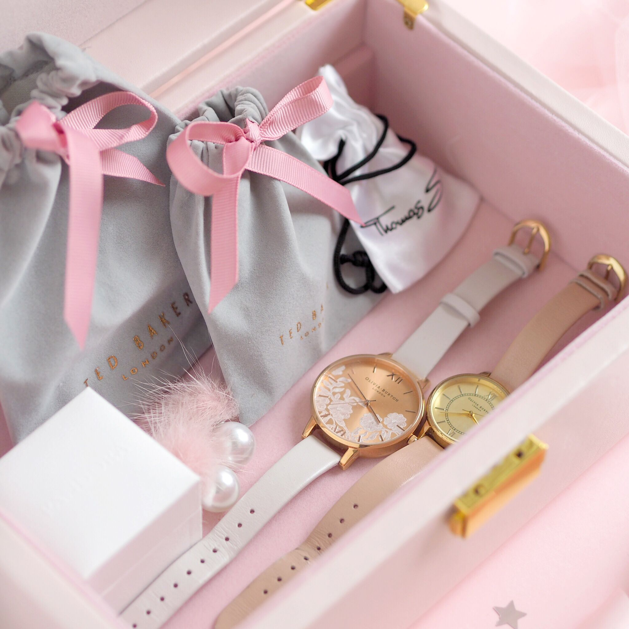 Inside My Jewellery Box: My Favourite Dainty Pieces, Olivia Burton Watches | Love Catherine