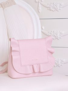 A Darling New Handbag: Ted Baker Pink Ruffle Bag