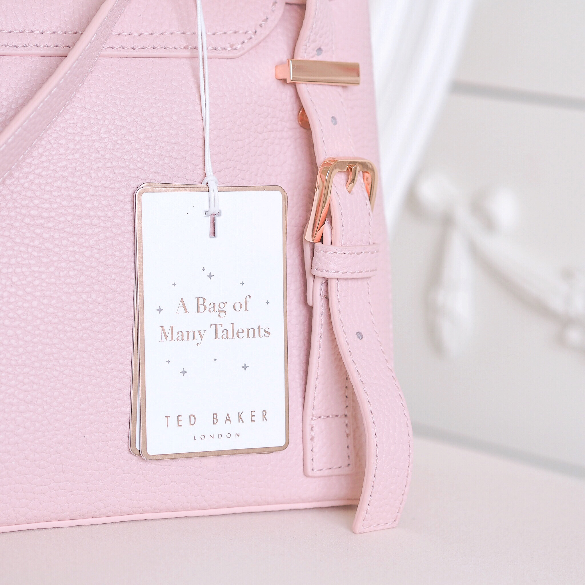 Ted Baker Pink Ruffle Bag
