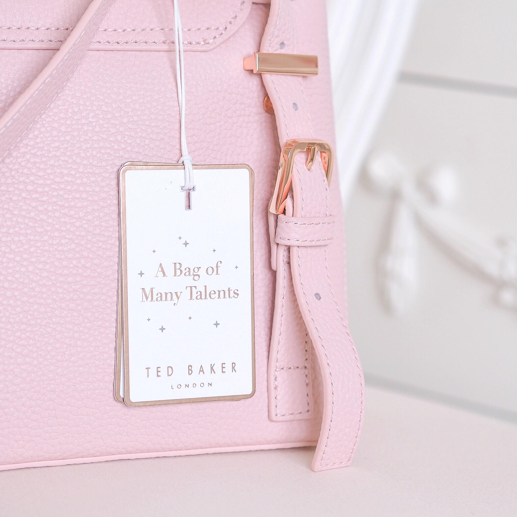 20ca20073d7 A Darling New Handbag: Ted Baker Pink Ruffle Bag