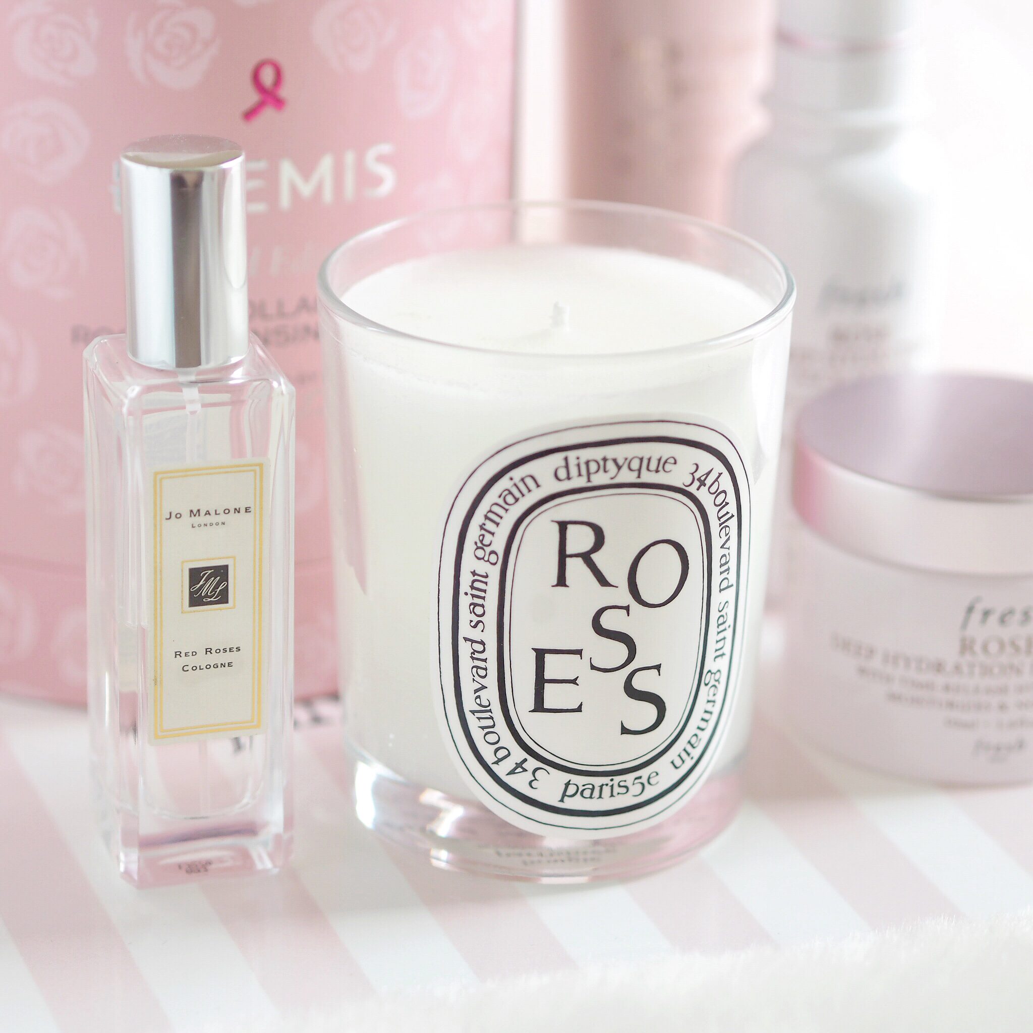 La Vie En Rose: My Favourite Rose Infused Products | Diptyque, Jo Malone, Fresh, Jurlique, Elemis