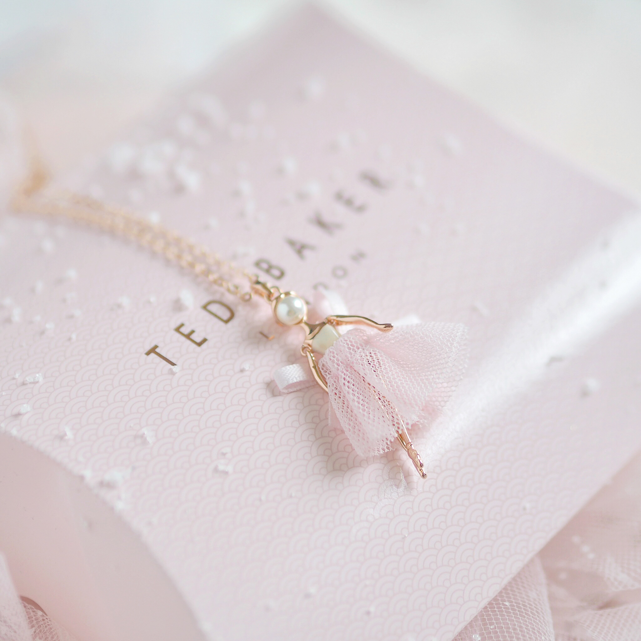 Seasons Treatings: Perfectly Pretty Christmas Gift Ideas For Her, Ted Baker Ballerina Pendant