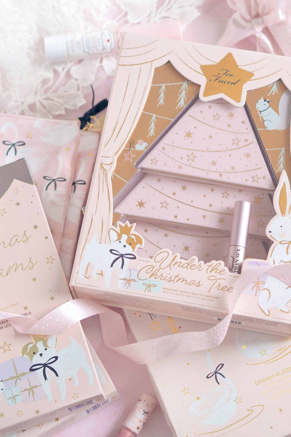 Have Yourself A Pretty In Pink Too Faced Christmas: Holiday Collection 2018