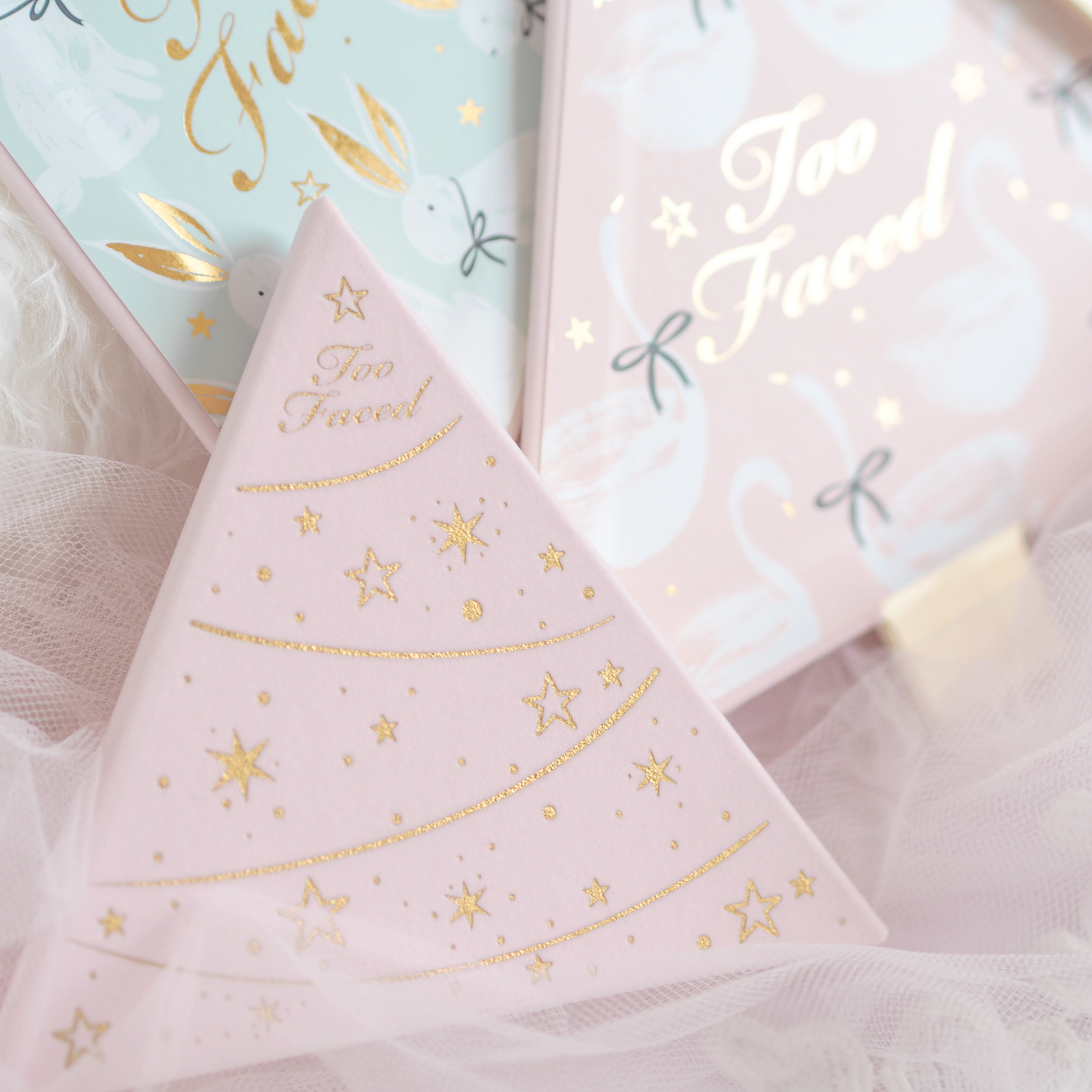 Pink Christmas Dreams: Too Faced Under The Christmas Tree Gift Set Review | Love Catherine