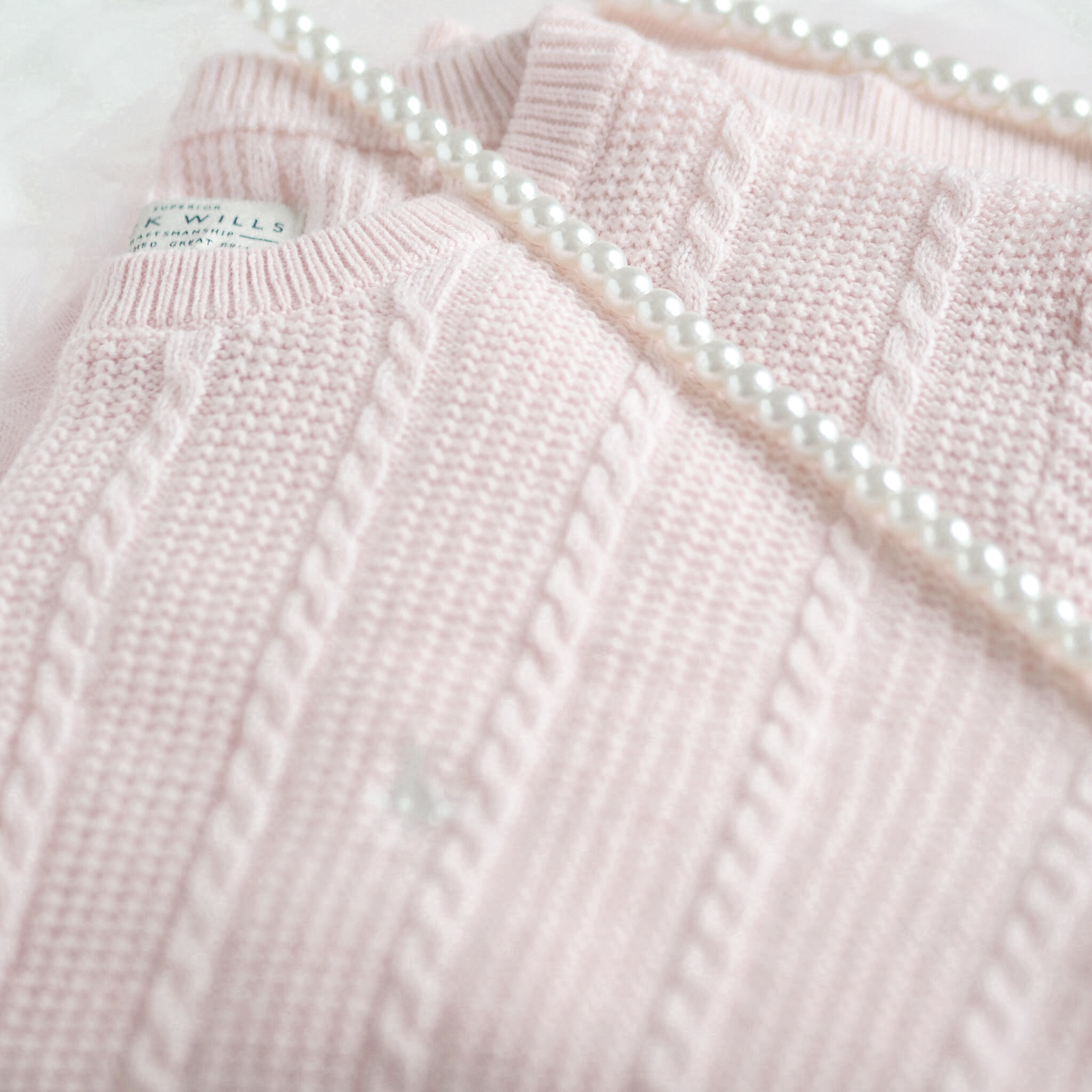Pink Knitted Jumper, The Lovely Things I Received For Christmas | Love Catherine