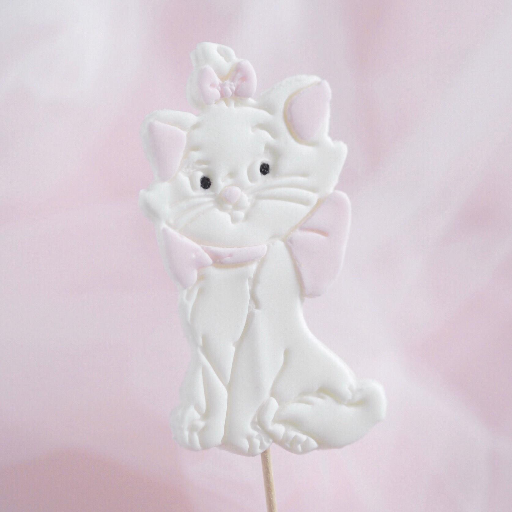 Disney Marie Cake Topper | Catherine Bakes