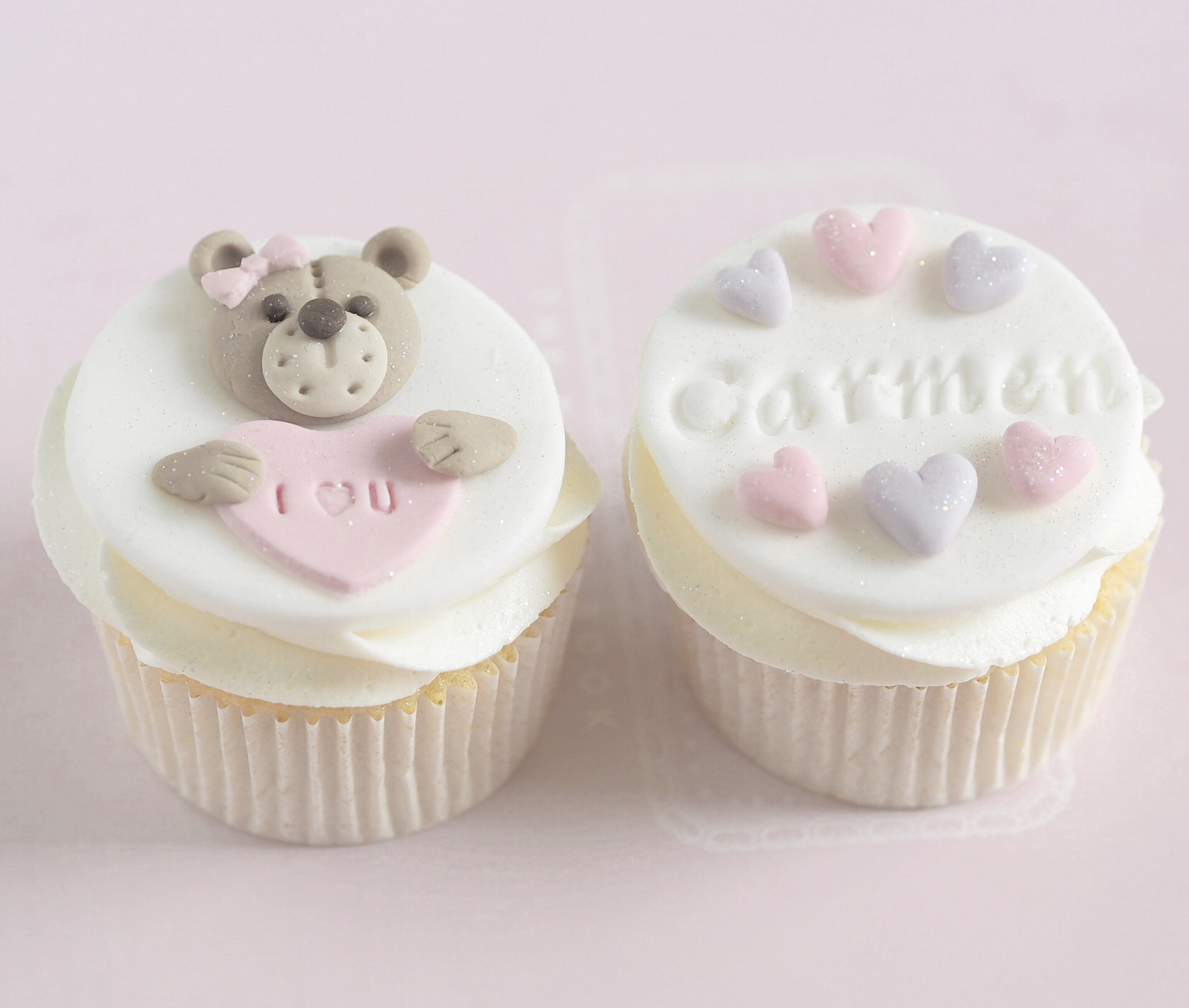 12 Cute Ways To Fall In Love With February, Teddy Bear Valentines Cupcakes | Love Catherine