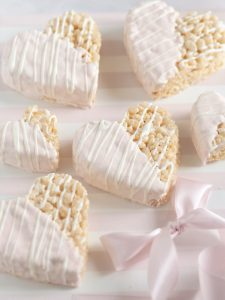 Valentines Sweetheart Rice Krispie Treats