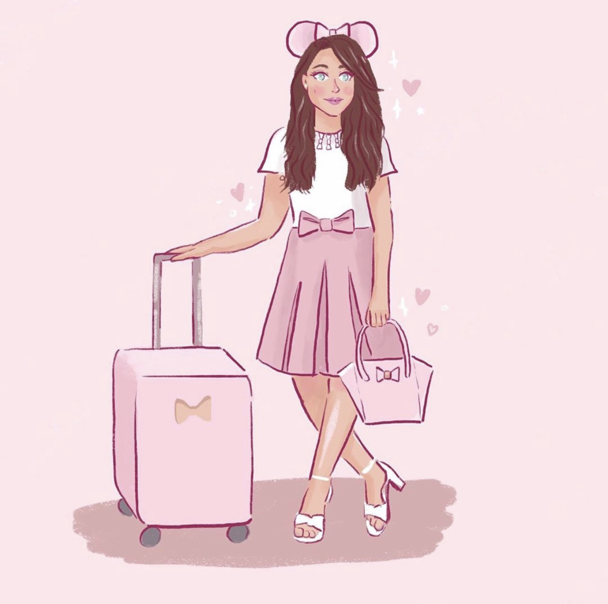 Catherine Marie Pink & Girly Illustration