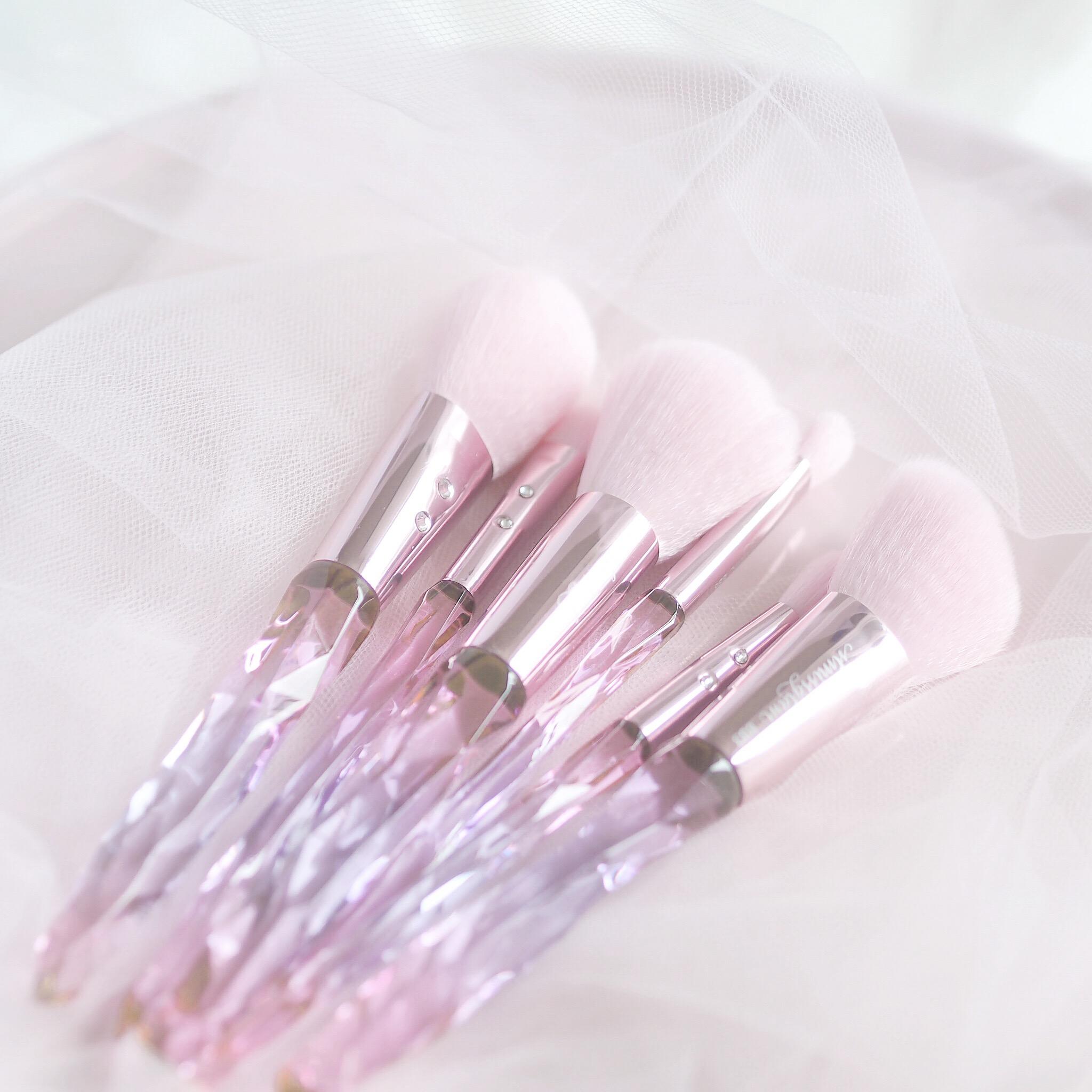 Fit For A Princess: Bling Bling Makeup Brush Set SLMissGlam | Love Catherine