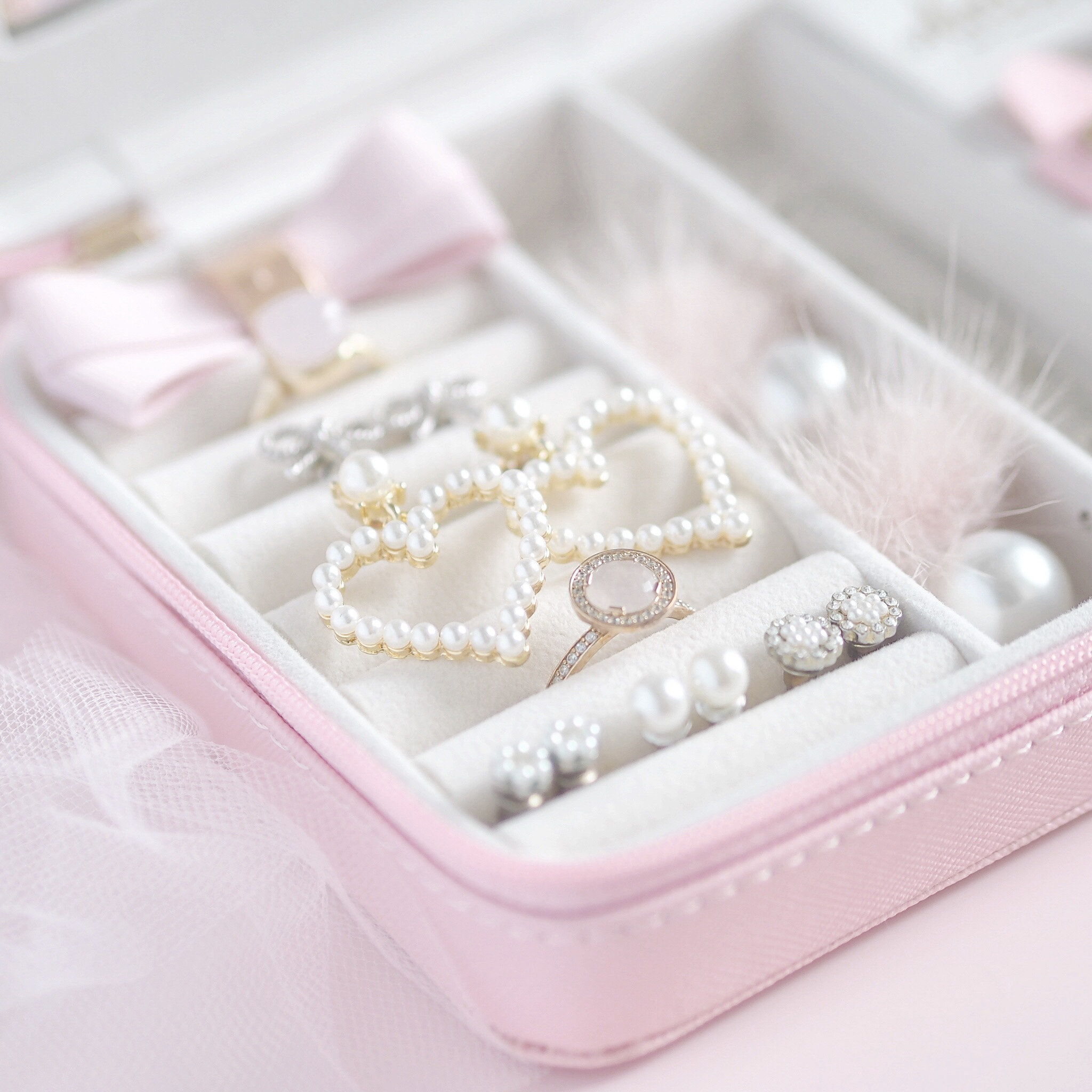 Fit For A Princess: The Dreamiest Pink Jewellery Case SLMissGlam | Love Catherine