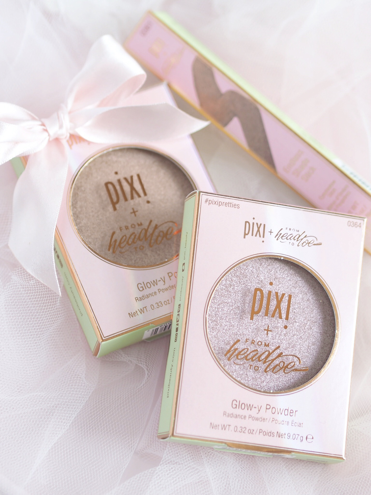 Glow-y Powders ~ Pixi Pretties Collection by Pixi Beauty