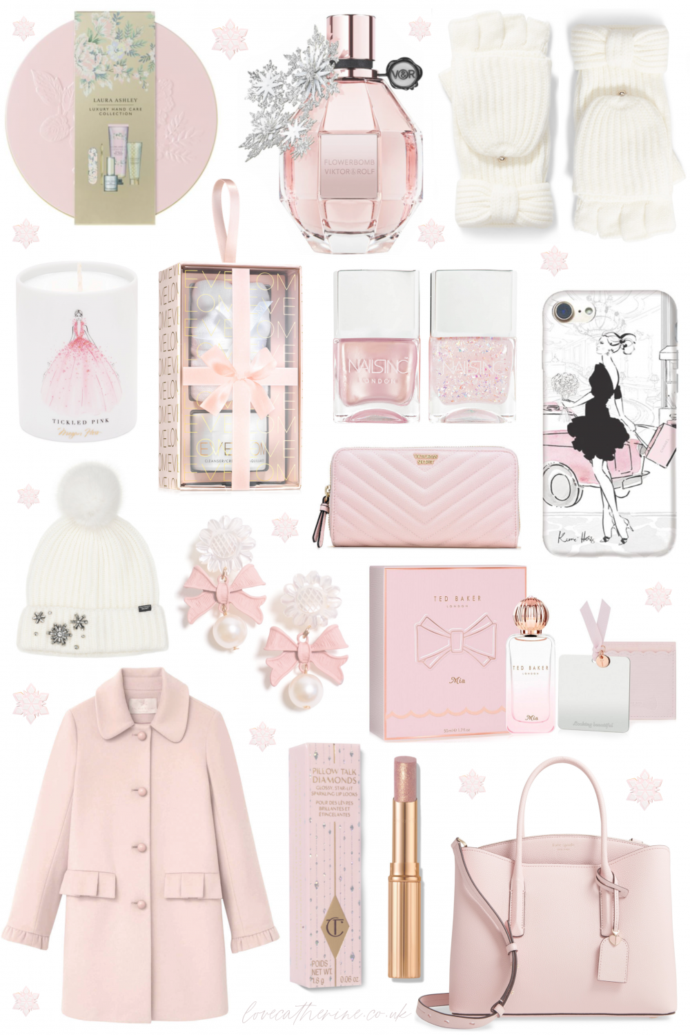 Pink Winter Princess: Christmas Gift Guide