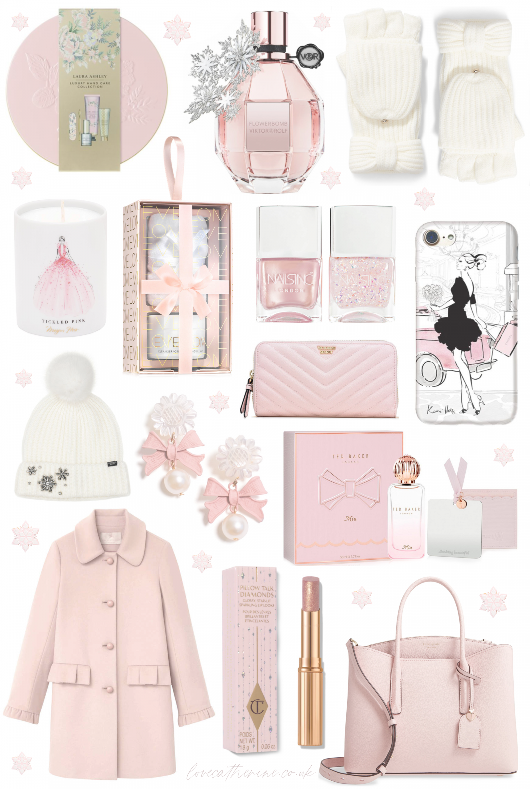 Pink Winter Princess: Christmas Gift Guide 2019