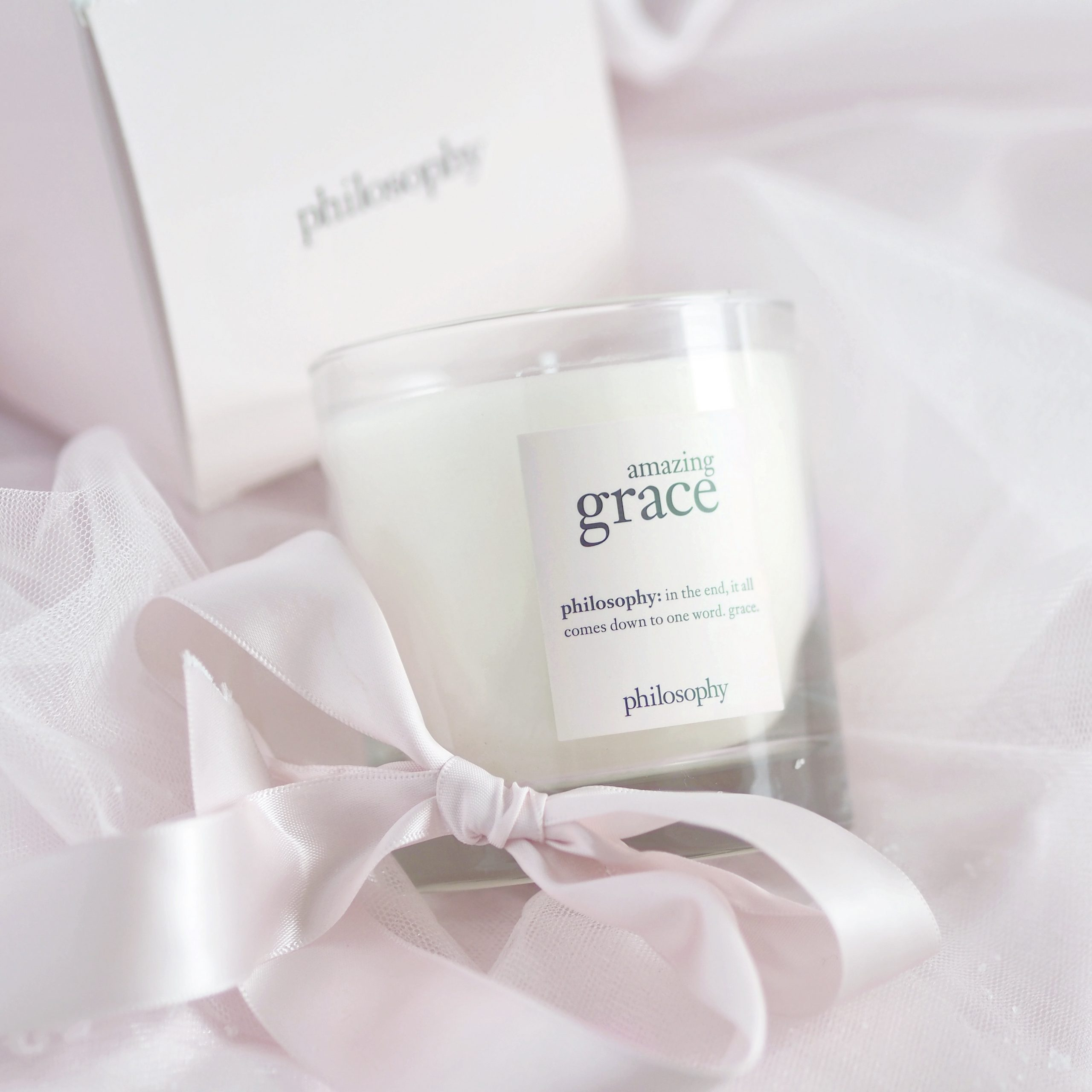 Philosophy Amazing Grace Fragrance Candle | Perfectly Pretty Christmas Gift Ideas