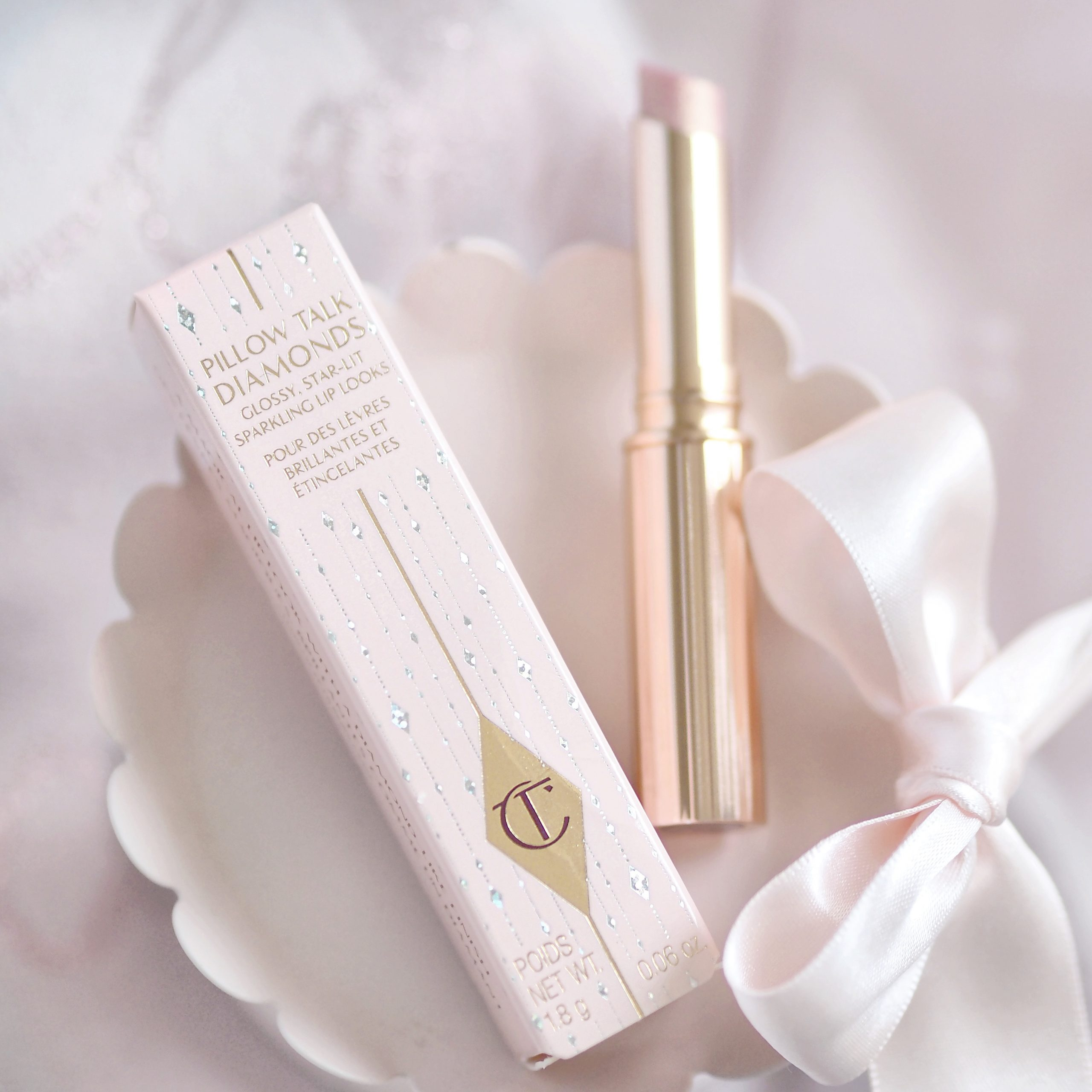 Charlotte Tilbury Pillow Talk Diamonds Lipstick | Perfectly Pretty Christmas Gift Ideas