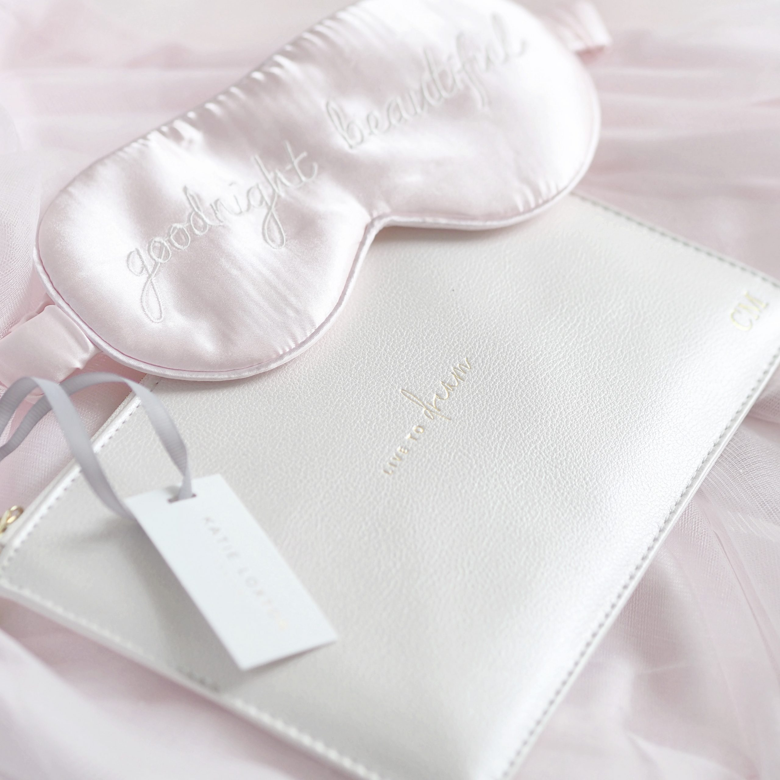 Katie Loxton Live To Dream Perfect Pouch | Perfectly Pretty Christmas Gift Ideas
