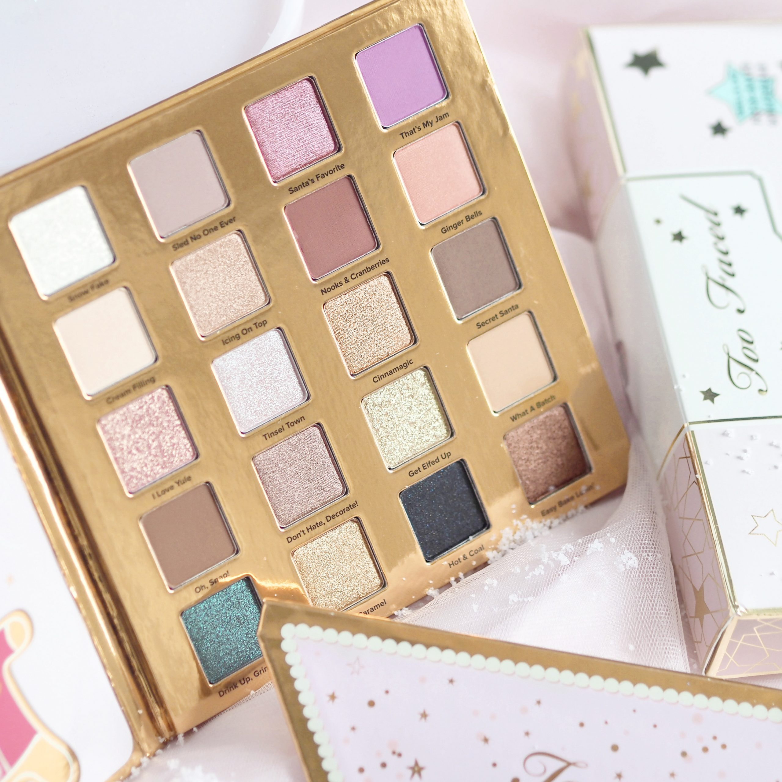 Too Faced Christmas Cookie House Party | Perfectly Pretty Christmas Gift Ideas