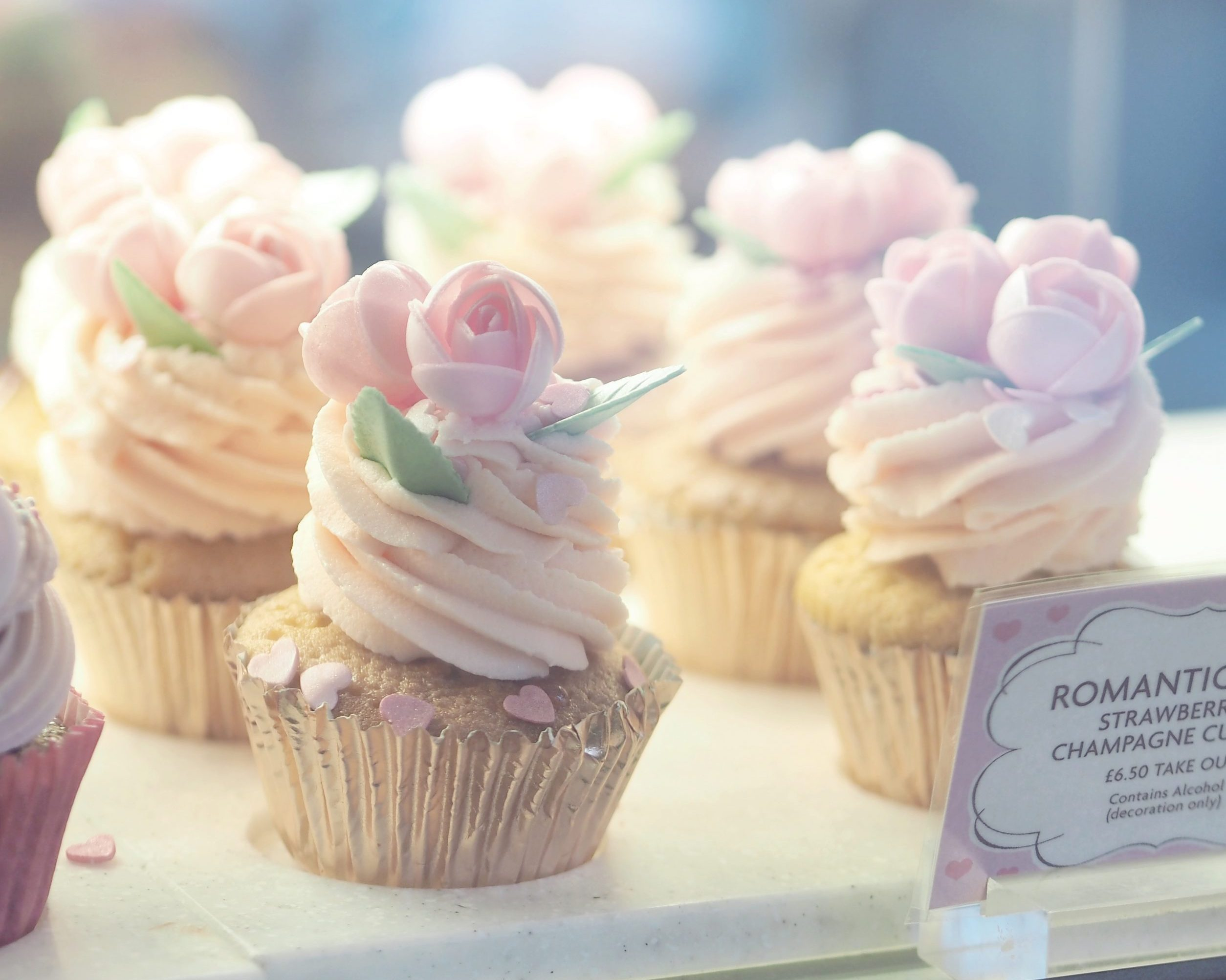 Romantic Rose Cupcake | An Oh So Sweet Valentine's At Peggy Porschen