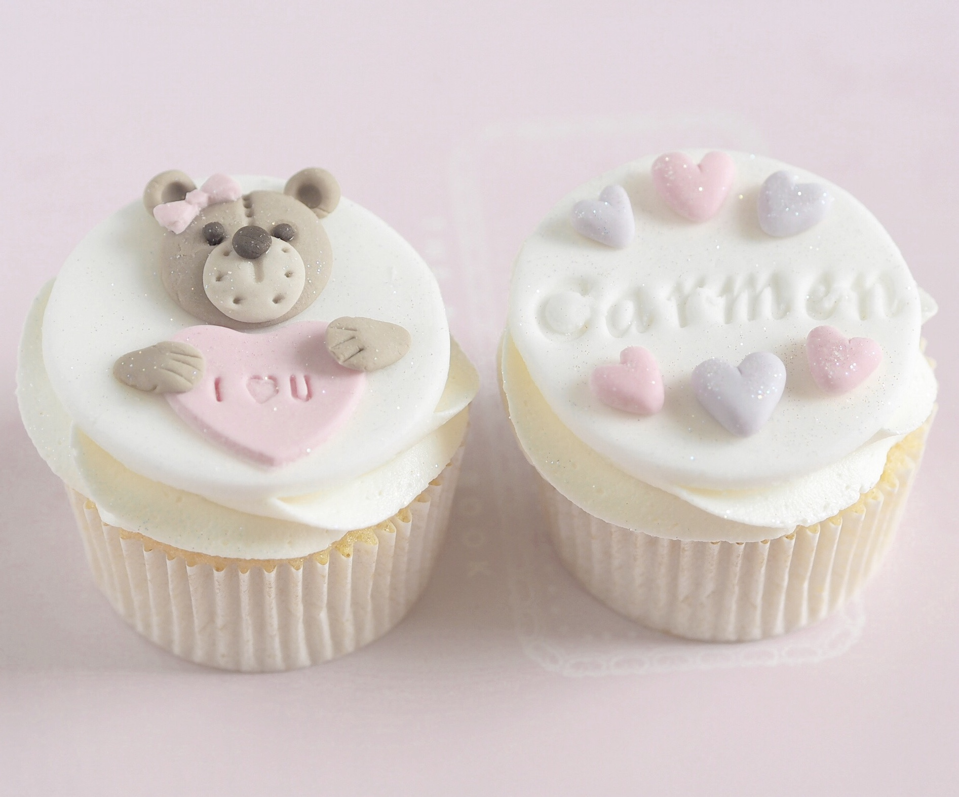 8 Sweet Ideas For Your Valentine's Baking ~ Teddy Bears & Chocolate Boxes Cupcakes