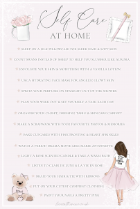 Self Care At Home: Girly Ways To Calm Your Mind & Soothe Your Soul