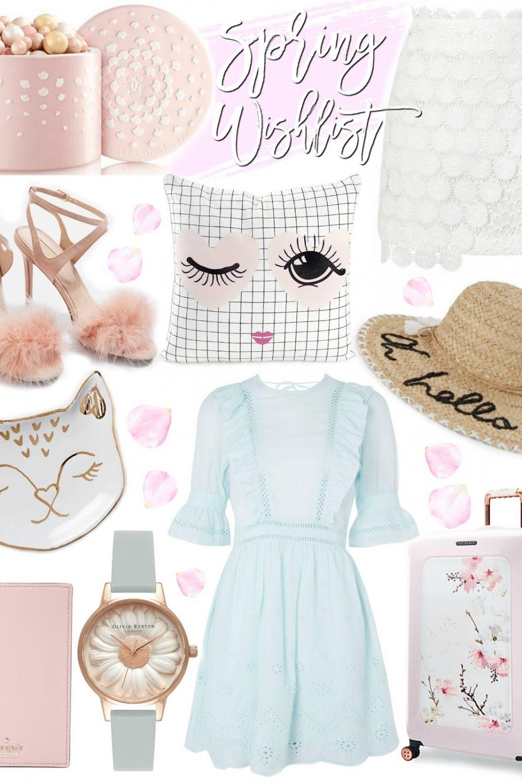 Spring Wishlist ~ Pretty Pastels