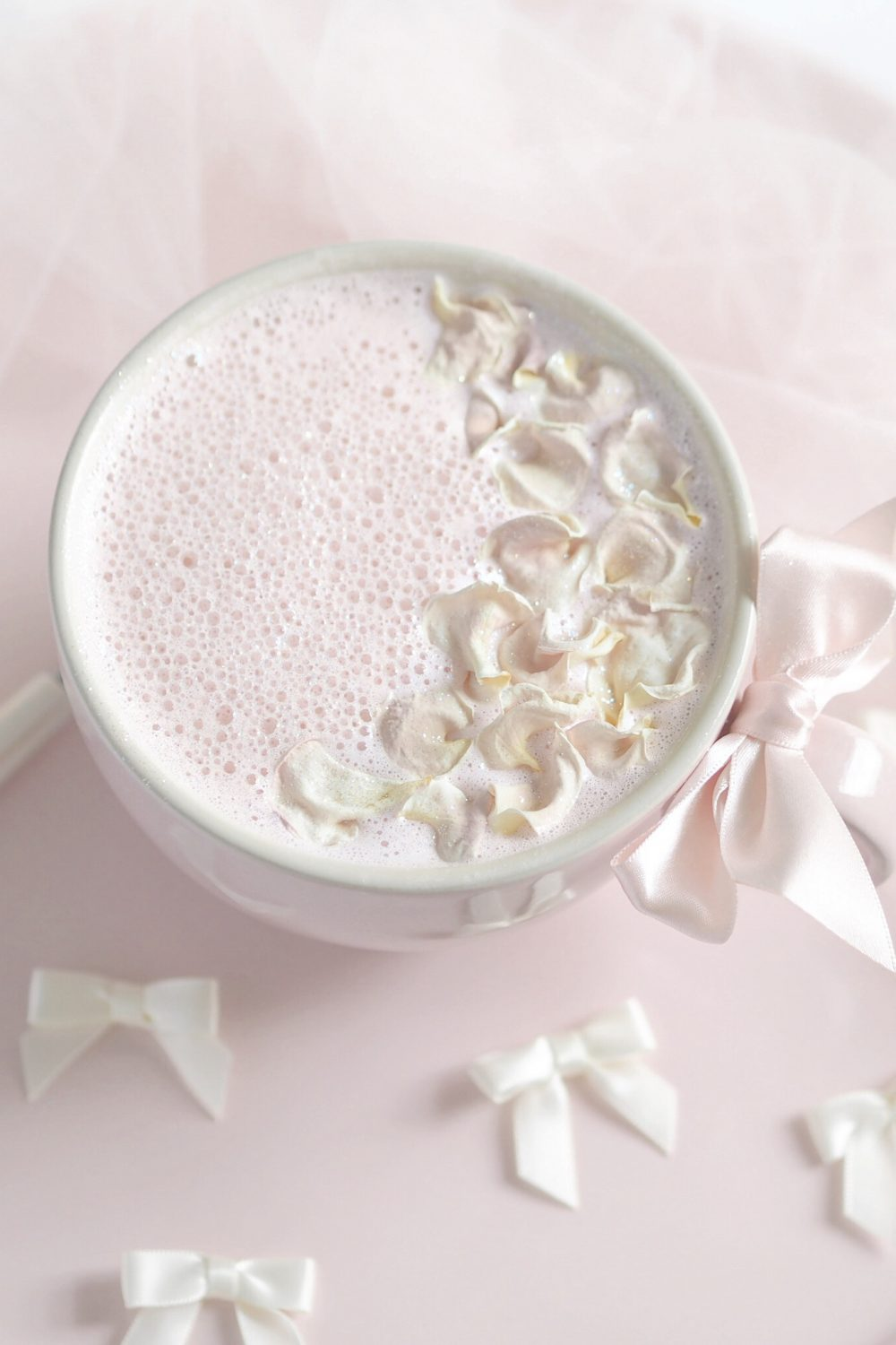 Pink Rose & Vanilla Moon Milk